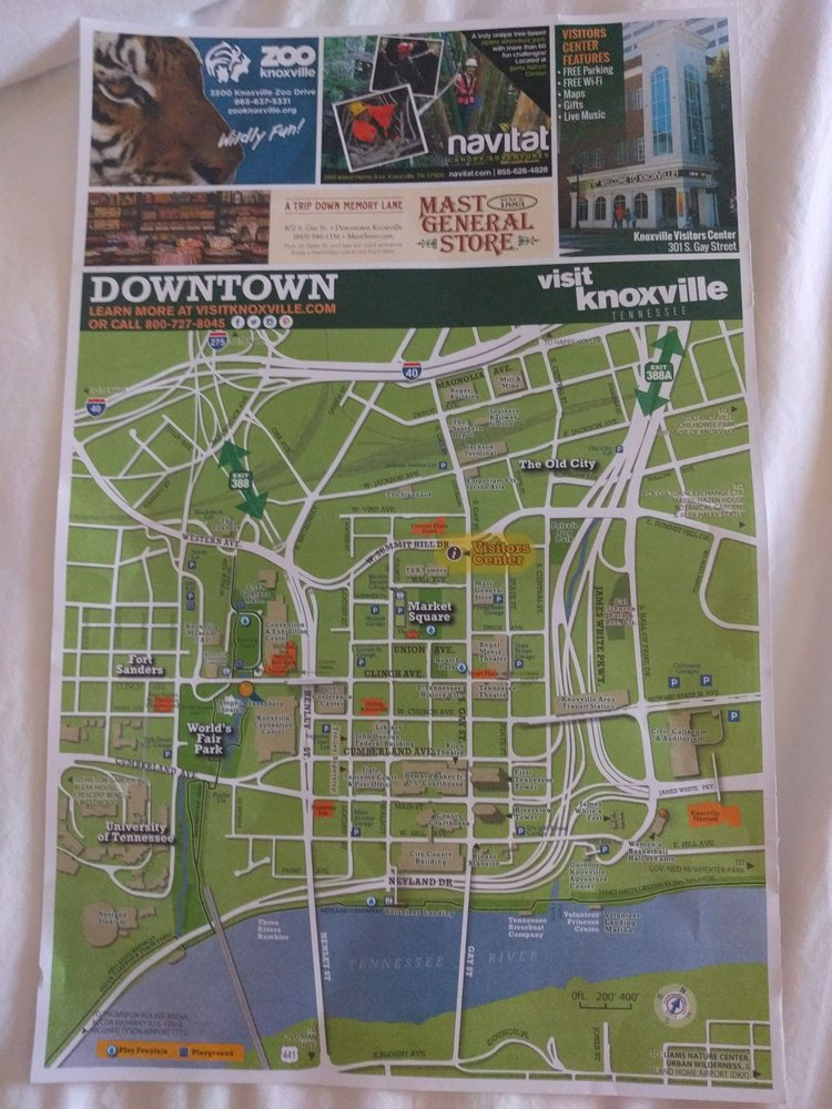 Worksheet. Map of Knoxville  Yelp