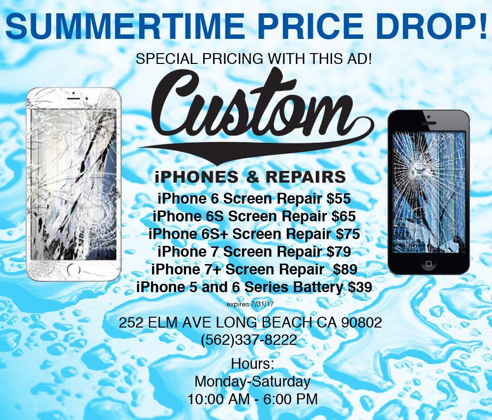super popular 054fc 6d089 iPhone 7 Screen Repairs are dropping in price. Come get them fixed ...