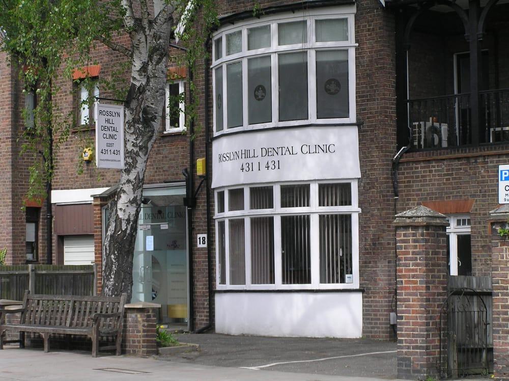 Rosslyn Hill Dental Clinic | 18 Rosslyn Hill, Hampstead, London NW3 1PD | +44 20 7431 1431