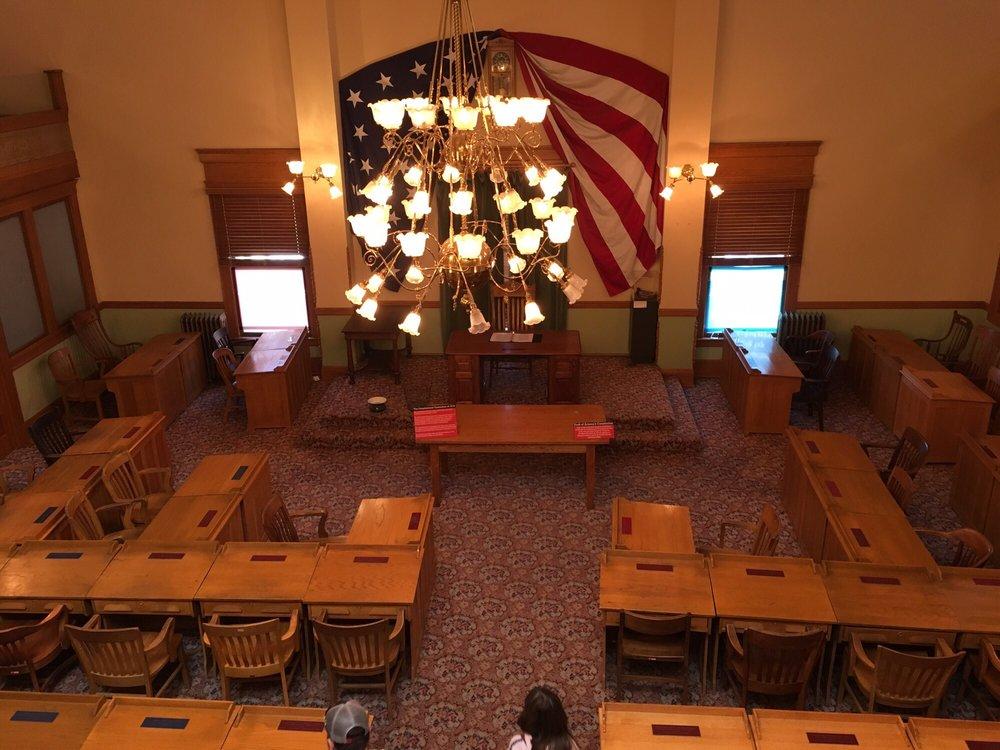 Arizona State Representatives >> Old House Of Representatives Chambers Yelp