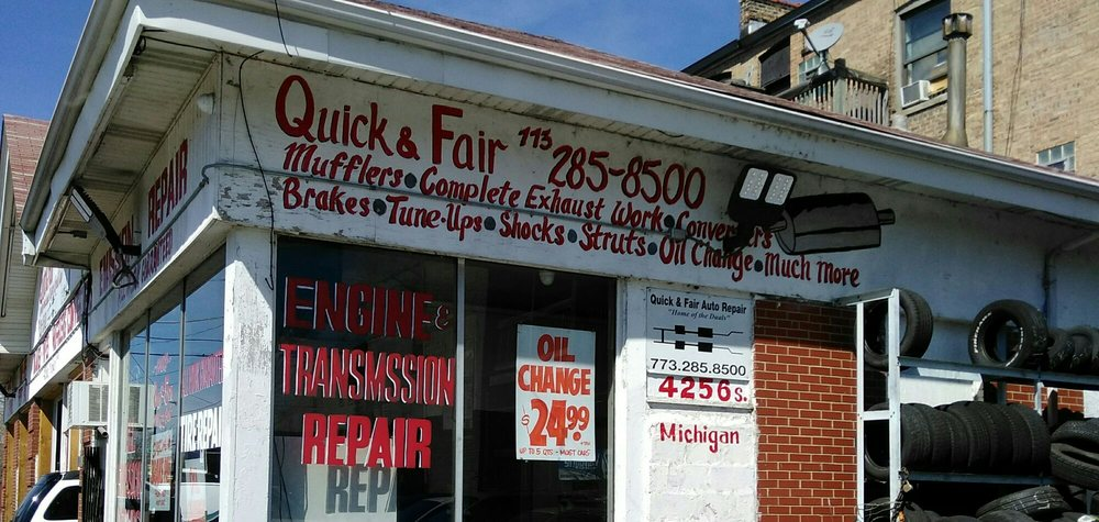 Quick & Fair Auto Repair: 4256 S Michigan Ave, Chicago, IL