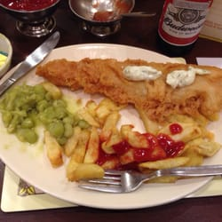 Photo Of Bispham Kitchen   Blackpool, United Kingdom. Haddock Chips And Peas