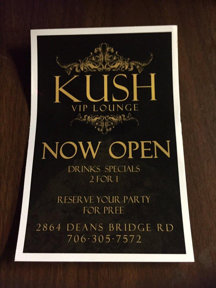 KUSH VIP Lounge: 2864 Deans Bridge Rd, Augusta, GA