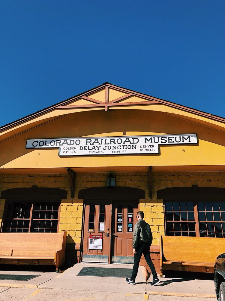 Social Spots from Colorado Railroad Museum