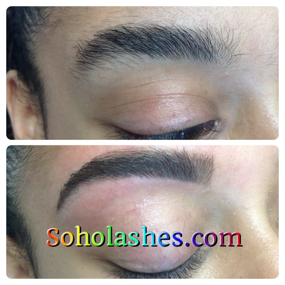 Soho Lashes Also Provides Eyebrow Shaping Taming Even The Most