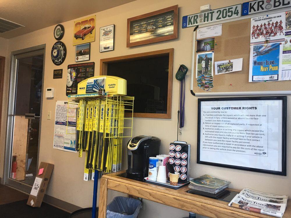 Mark's Auto Repair: 181 NE Midway Blvd, Oak Harbor, WA
