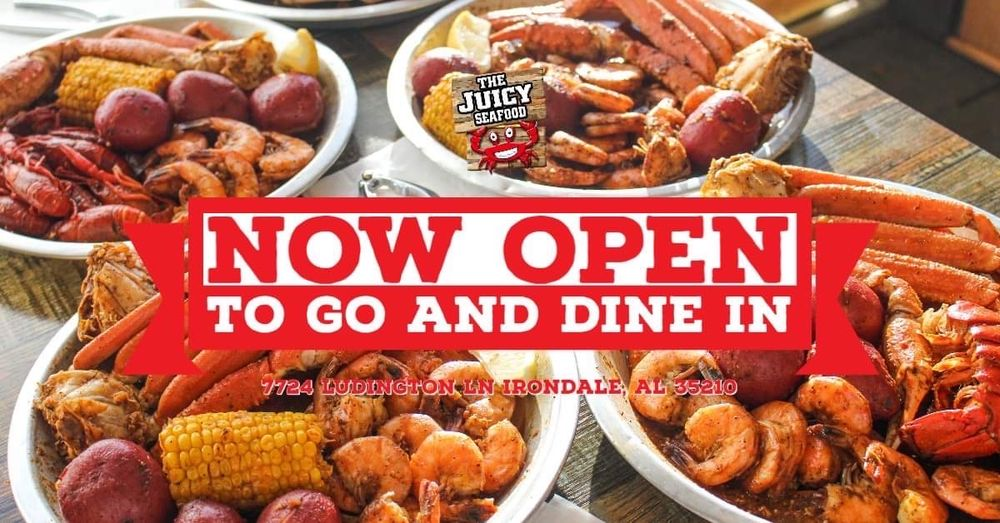 The Juicy Seafood: 7724 Ludington Ln, Birmingham, AL