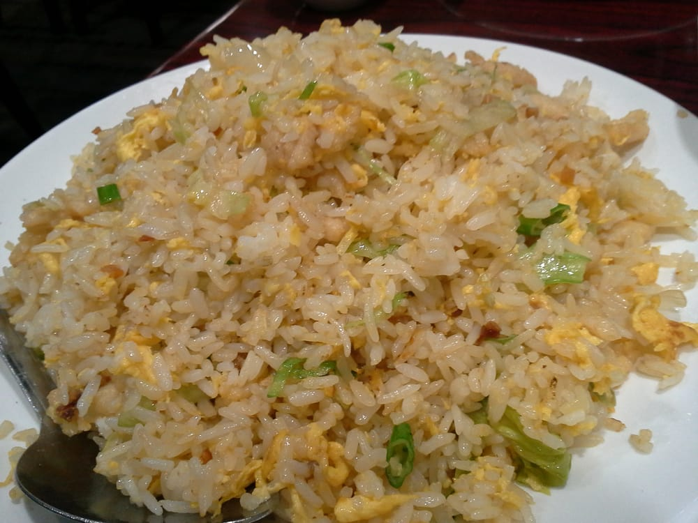 Salted fish fried rice with chicken yelp for Fish fried rice
