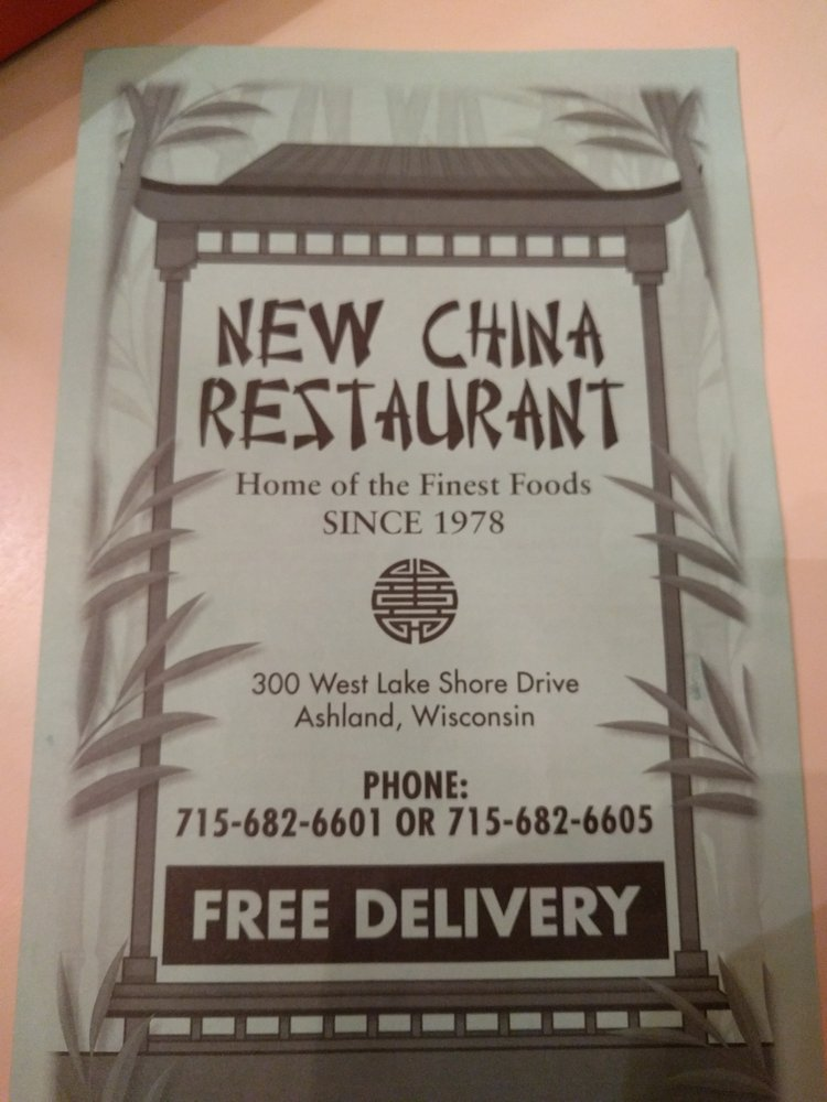 Online Menu Of New China Restaurant Restaurant Ashland