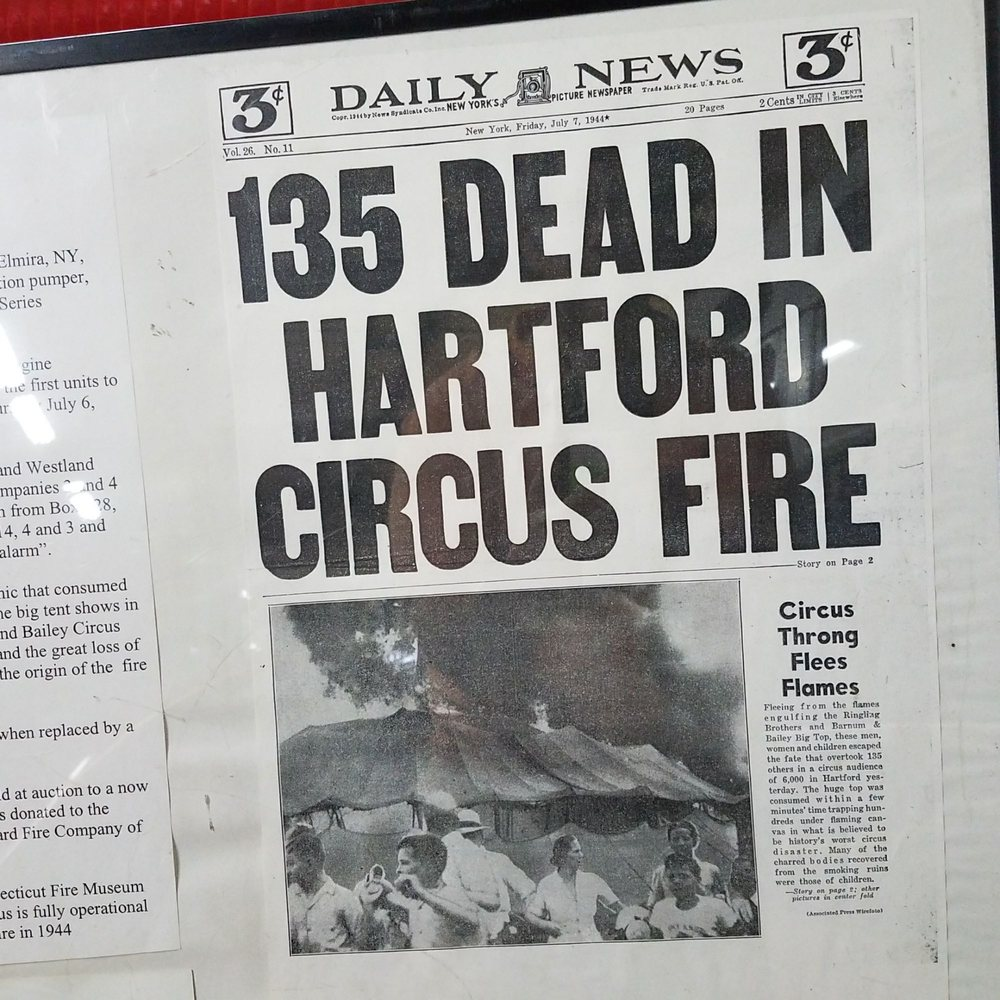 Hartford Circus Fire Memorial