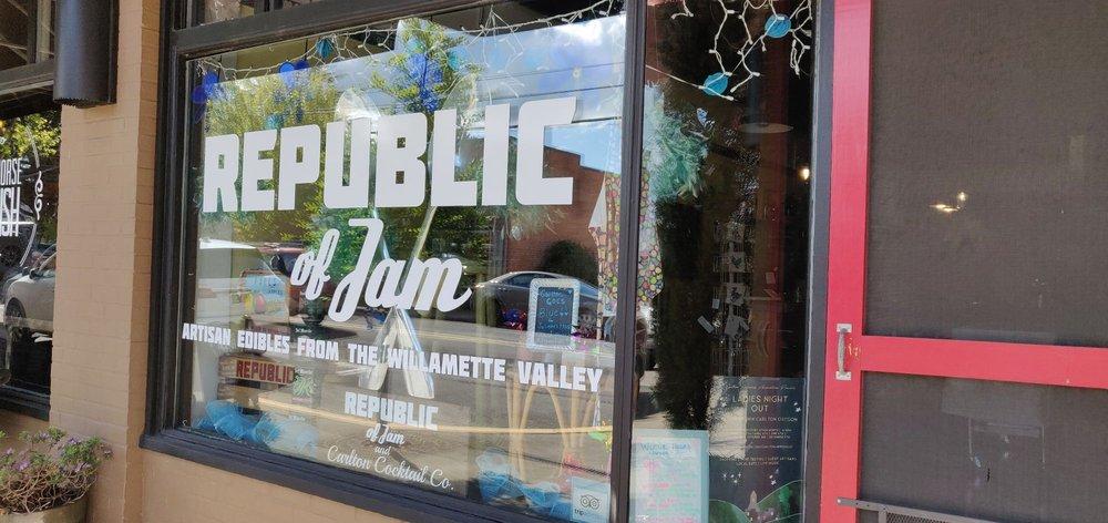 Republic of Jam: 211 W Main St, Carlton, OR