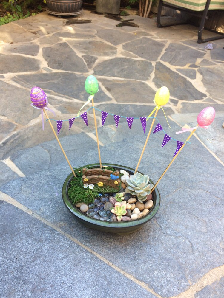 Dollar Tree Easter craft items and fairy garden items are now ...