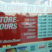 AutoZone - 11 Reviews - Auto Parts & Supplies - 22125 Barton Rd ...