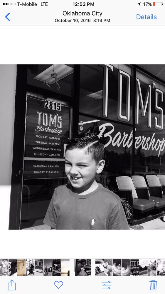 Kids Haircut With Hard Part Yelp