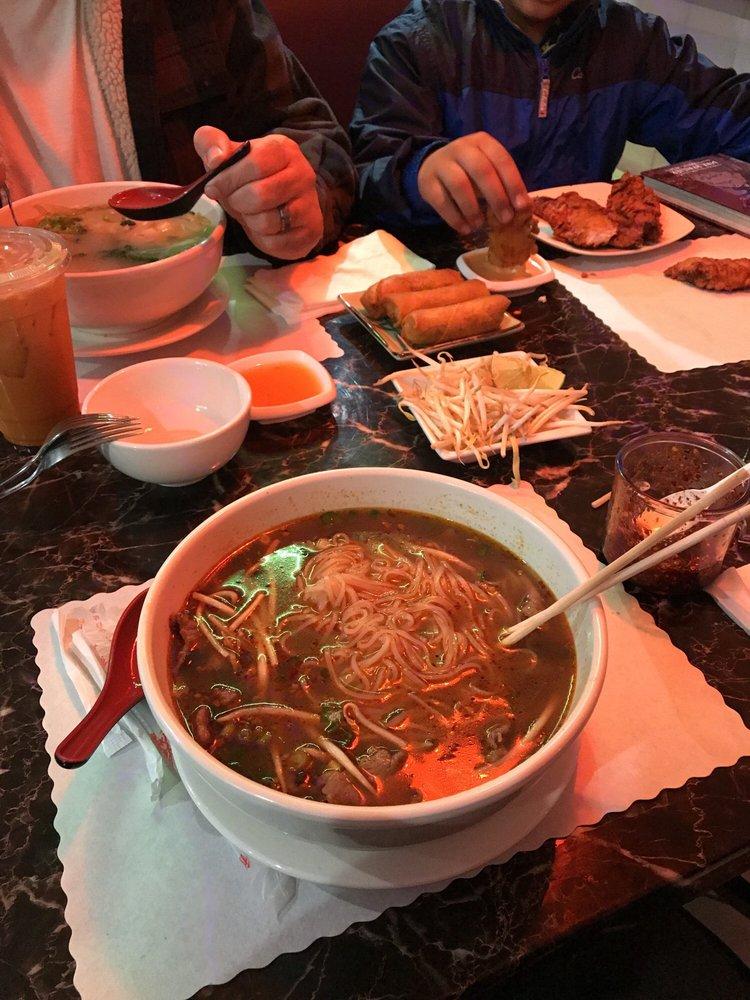 Food from Panda Max Asian Cuisine