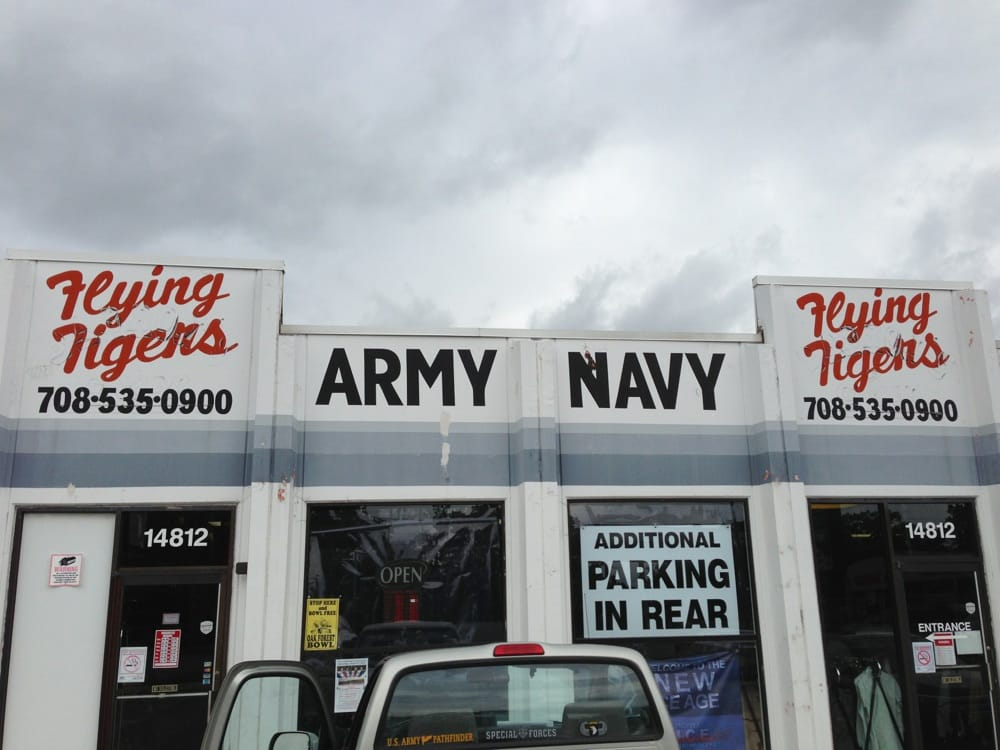 Flying Tigers Army Navy Surplus: 14812 Cicero Ave, Midlothian, IL