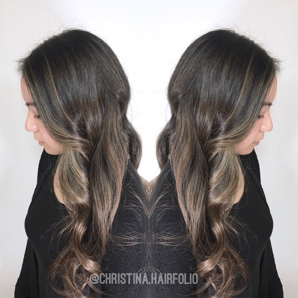 Blended Ashy Highlights In Asian Hair Yelp