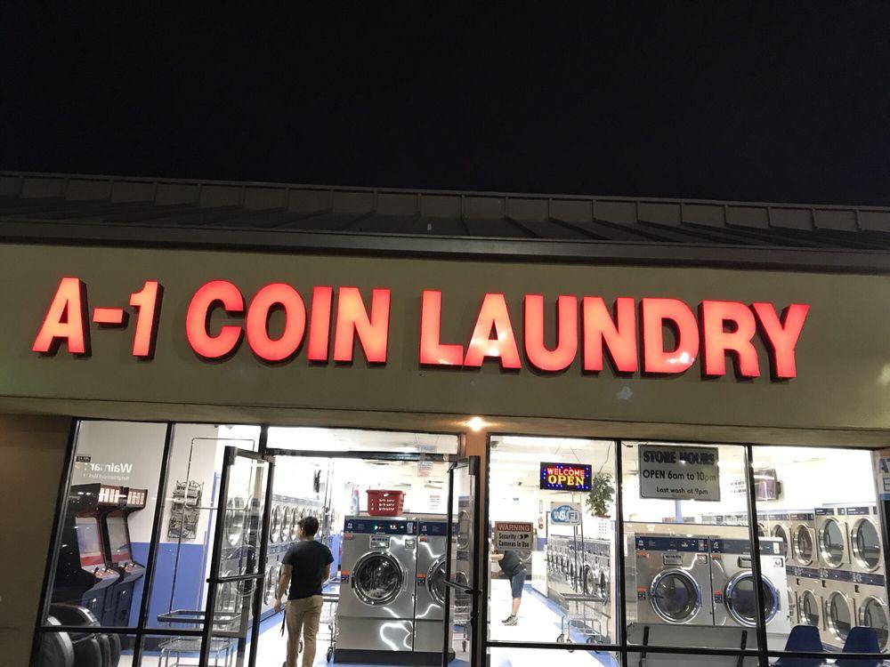 A-1 Coin Laundry: 1520 W 6th St, Corona, CA