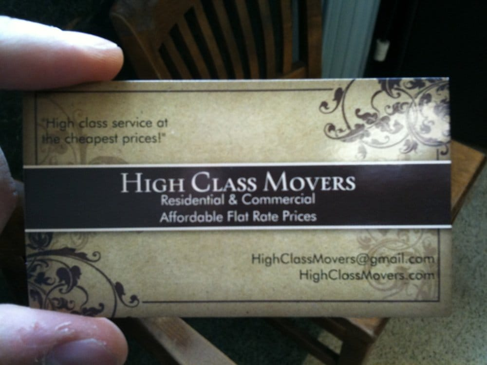 Cool looking business card!! - Yelp