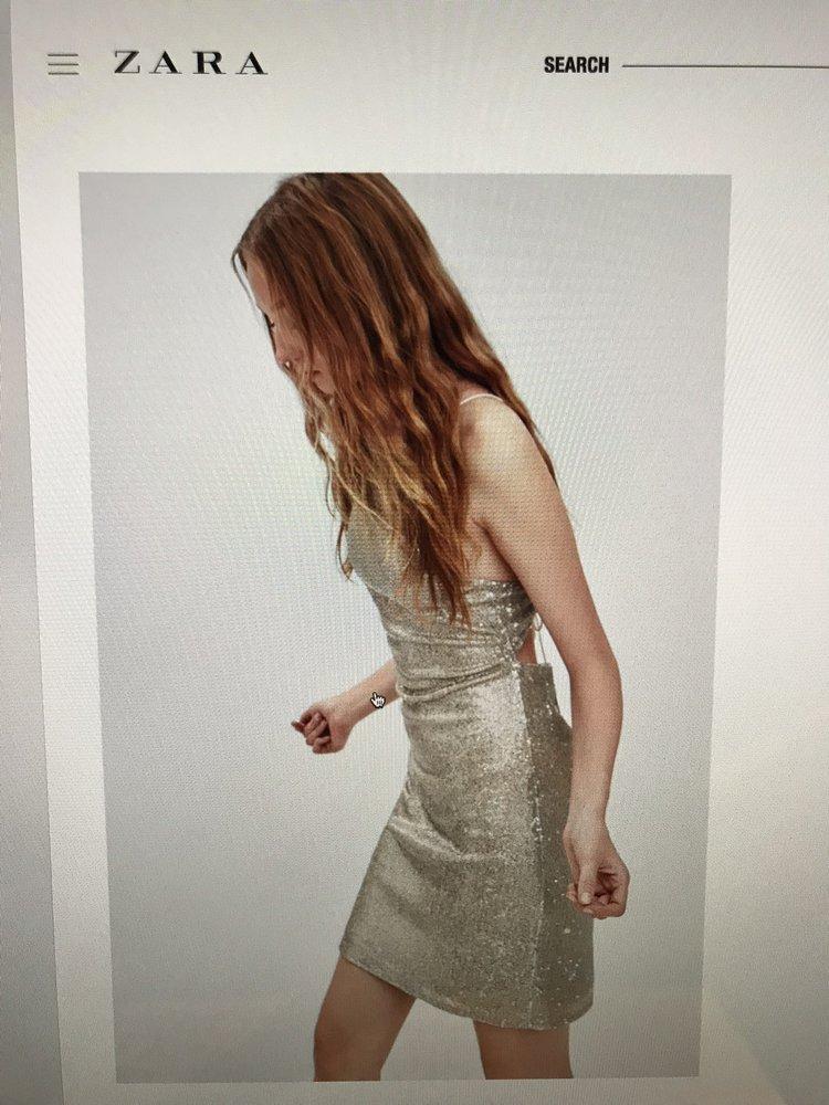 7fc421e6 Zara USA Size Small Royal Blue Sleeveless Bodycon Dress Depop