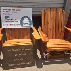 Photo Of Bu0026D WoodWorx   Conroe, TX, United States. Quality Outdoor Furniture .