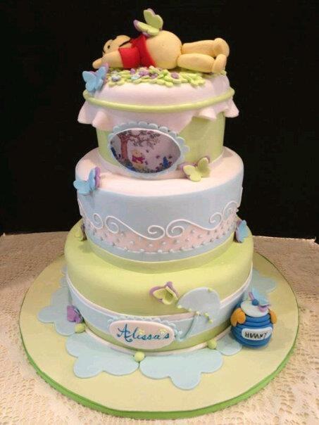 Winnie The Pooh Baby Shower Cake Yelp
