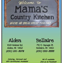Mama S Country Kitchen Bellaire Mi