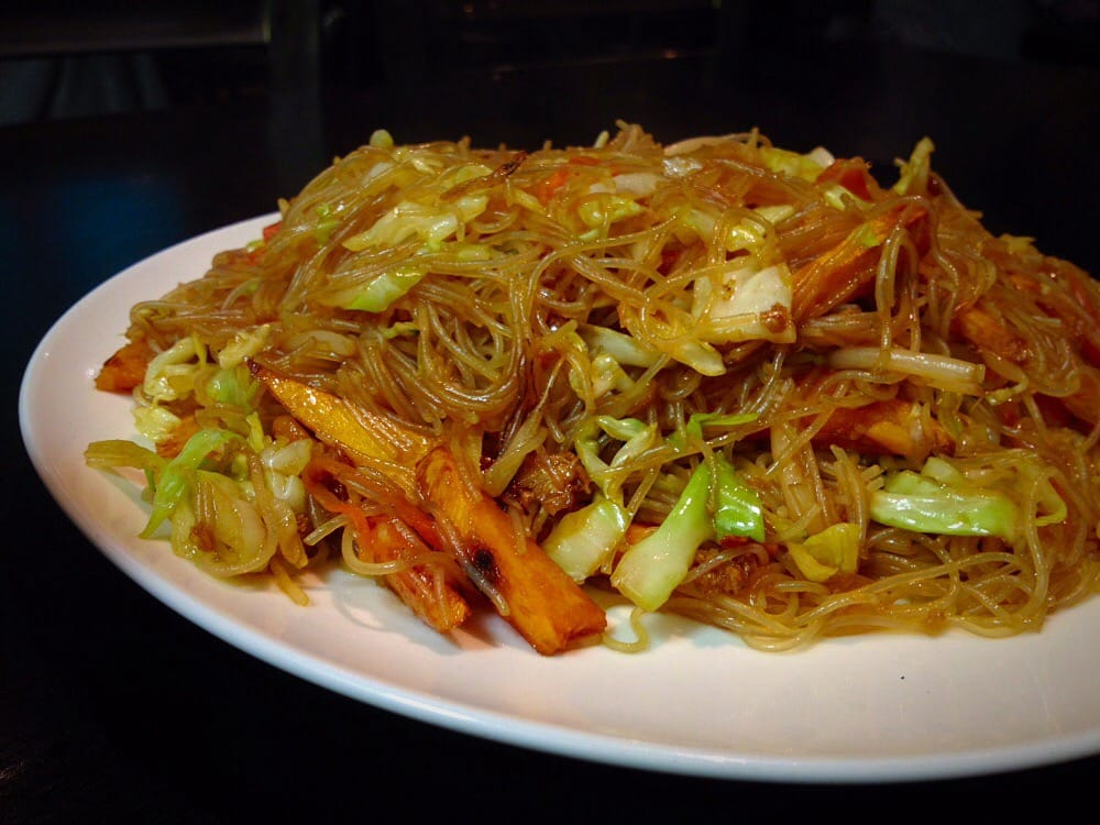 Stir fried Pumpkin with rice noodles - Yelp