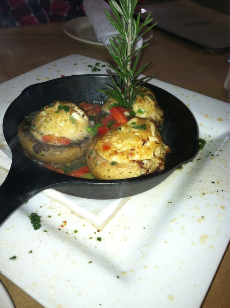 Stuffed mushroom delicious yelp for Fish thyme acworth