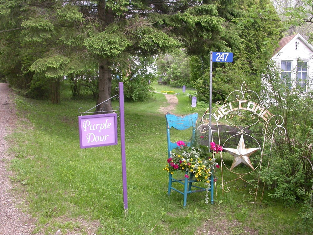Purple Door: 247 Old River Road, Mallorytown, ON