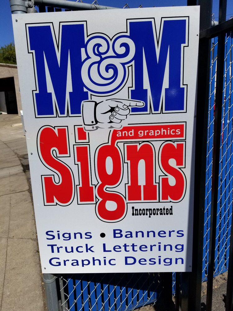 M And M Signs & Graphics: 22 Houston Ln, Lodi, CA