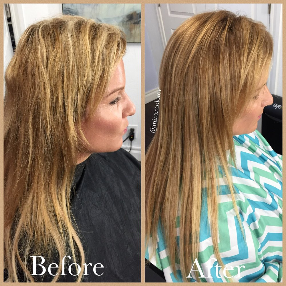 Fixing Bad Hair Color From A Previous Stylist Yelp