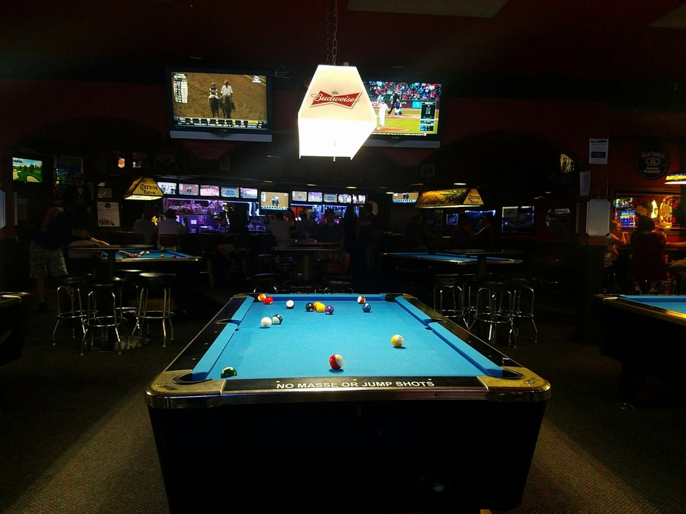 The library 16 photos 57 reviews pool snooker hall for Allied gardens pool