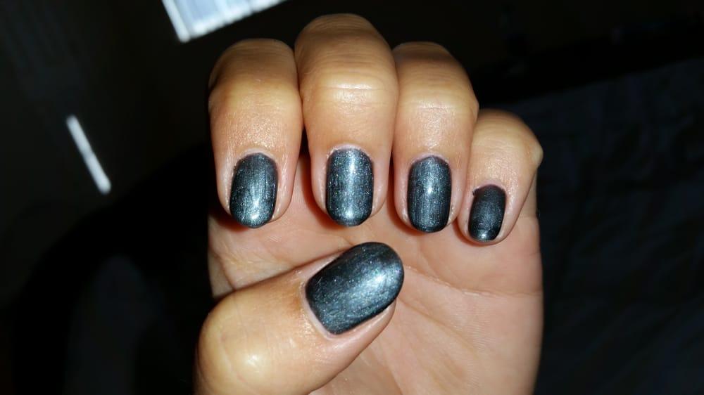 Gunmetal gray gelish. - Yelp