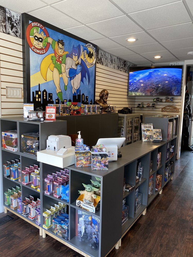 Rocky's Comics: 304 Hempstead Ave, Malverne, NY