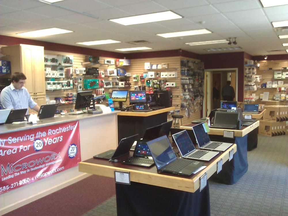 Microworx: 20 Allens Creek Rd, Rochester, NY