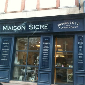 maison sicre magasin de meuble 23 rue des fr res lion riquet dupuy toulouse france. Black Bedroom Furniture Sets. Home Design Ideas