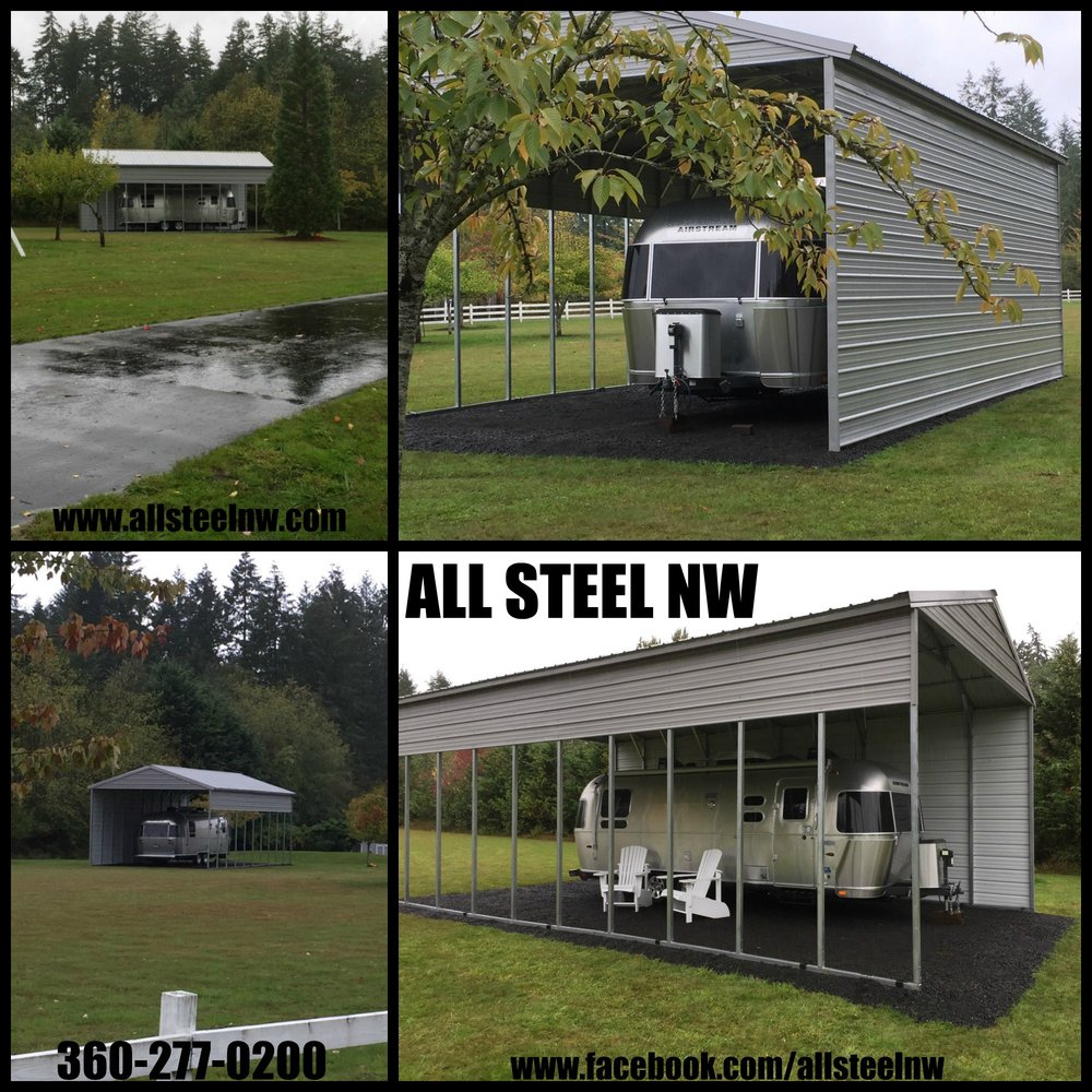 We Finally Finished The Rv Carport: All Steel NW