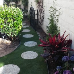 Photo Of Naturescape Services   San Diego, CA, United States. Installed  Artificial Turf