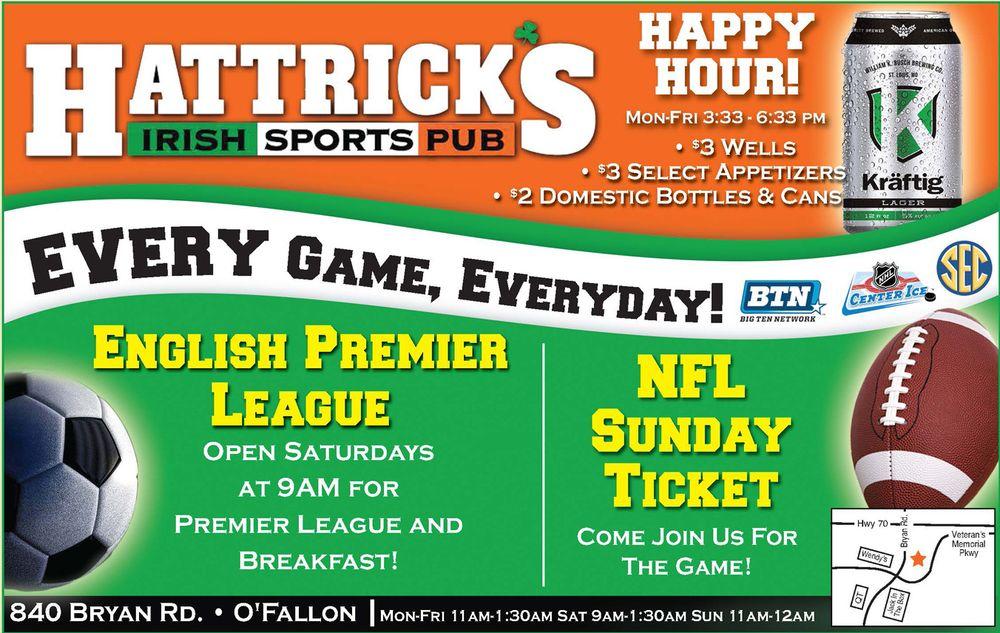 Hattrick's Irish Sports Pub