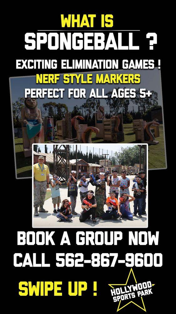 Hollywood Sports Park: 9030 Somerset Blvd, Bellflower, CA