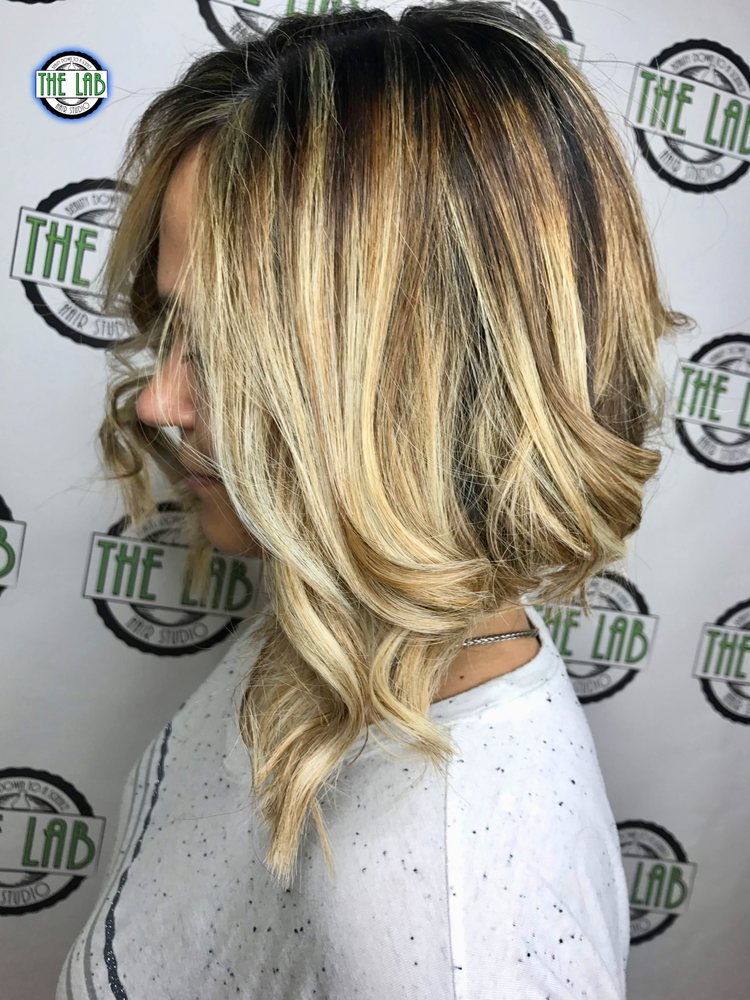 Womans Haircut With Beachy Balayage Compliments Of Ashley F