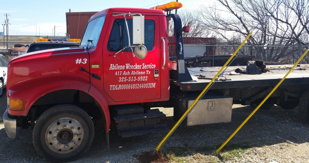 Abilene Wrecker Service: 5201 N St, Abilene, TX