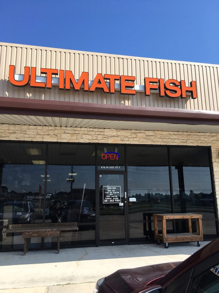 Ultimate Fish: 4716 Fm 2920 Rd, Spring, TX