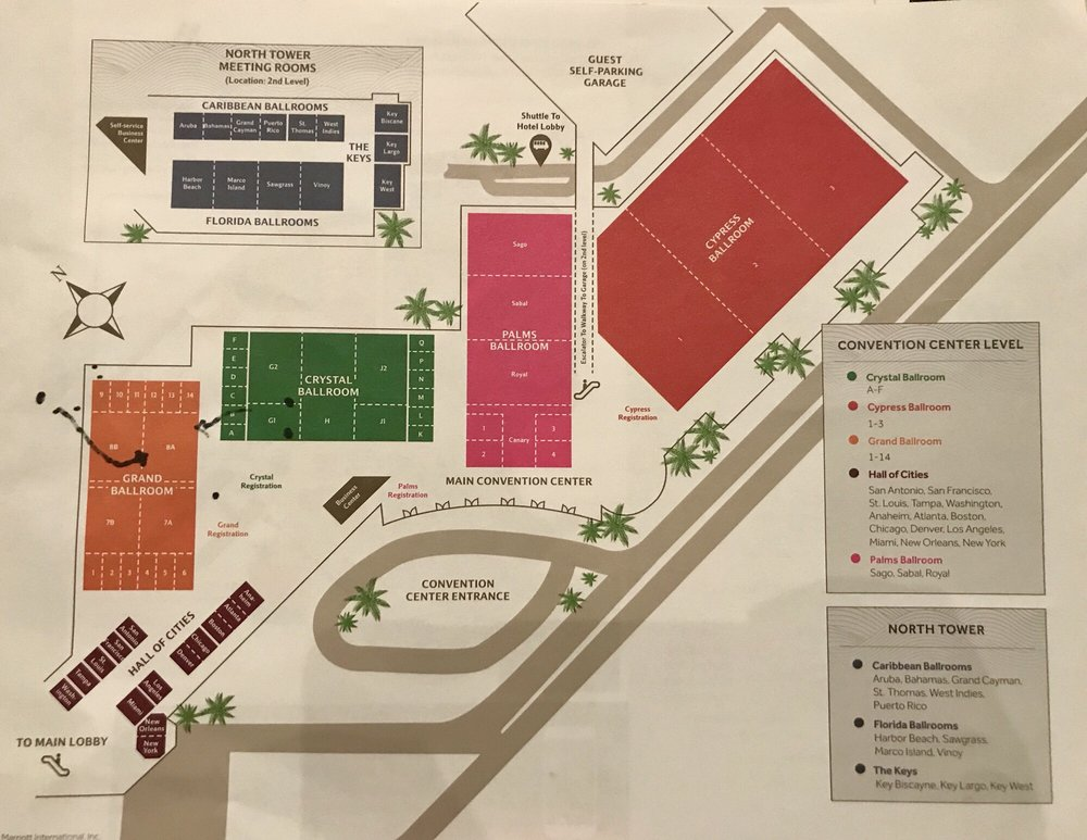 Convention center map - Yelp