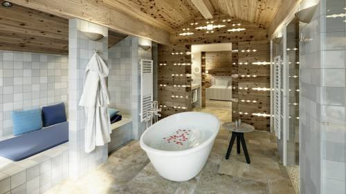 Wellnessbad Spa Lech Lodge Privates Ski Chalet Luxus