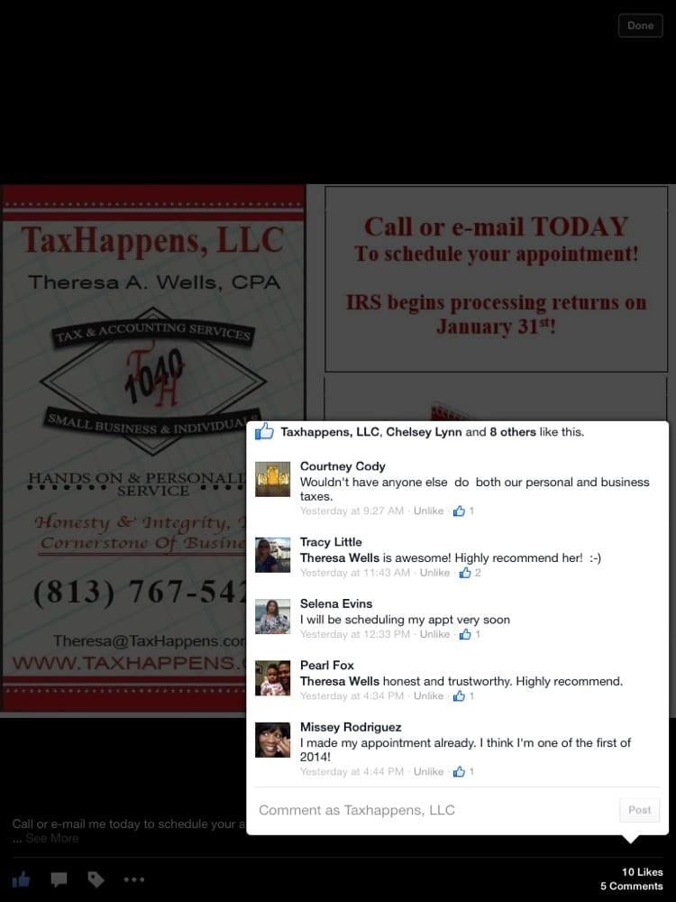 Tax Happens: 10018 Park Place Ave, Riverview, FL