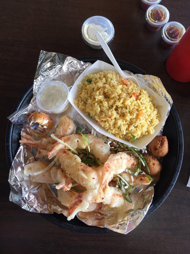 Krazy Kajun Seafood: 3015 N Dowlen Rd, Beaumont, TX