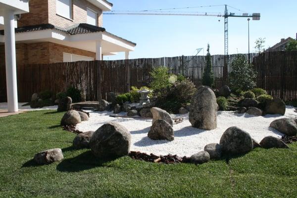foto de jardines japoneses zen a corua espaa