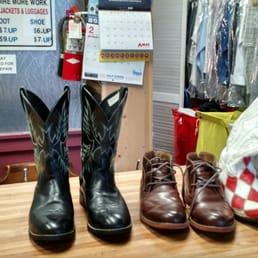arlington shoe and boot repair clean laundry shoe